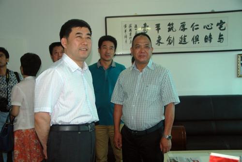 全国工商联调研组到郑州市温州商会调研